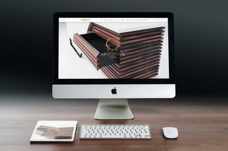 Website Aparattus Design